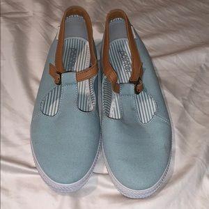 Shoes - Pointer sky blue flats
